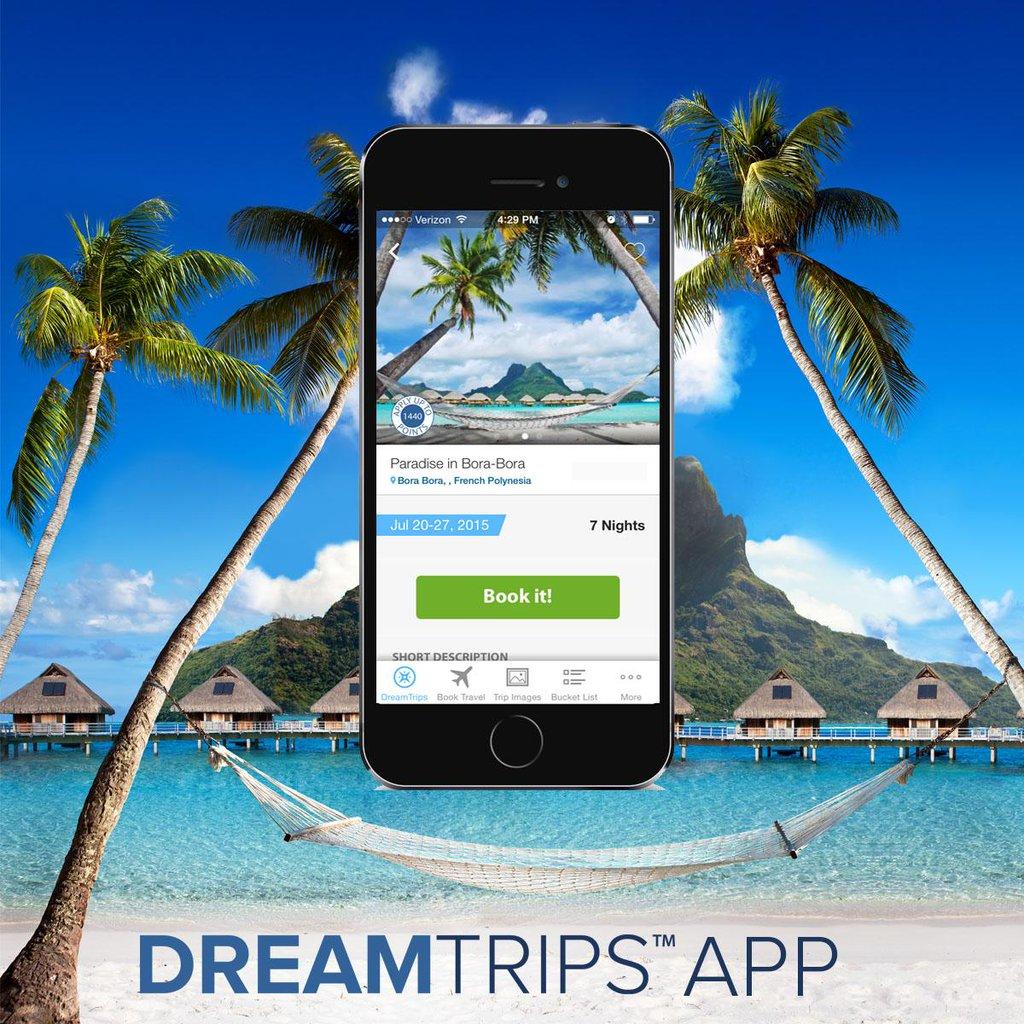 DreamTrips Applikáció a mobildora!